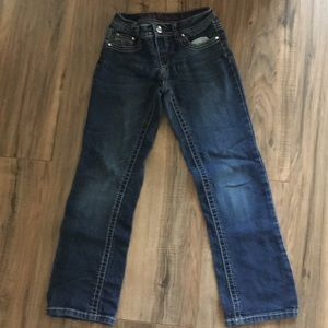 Justice skinny boot jeans